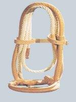 Cavezza Maremmana foderata con corda 6 metri